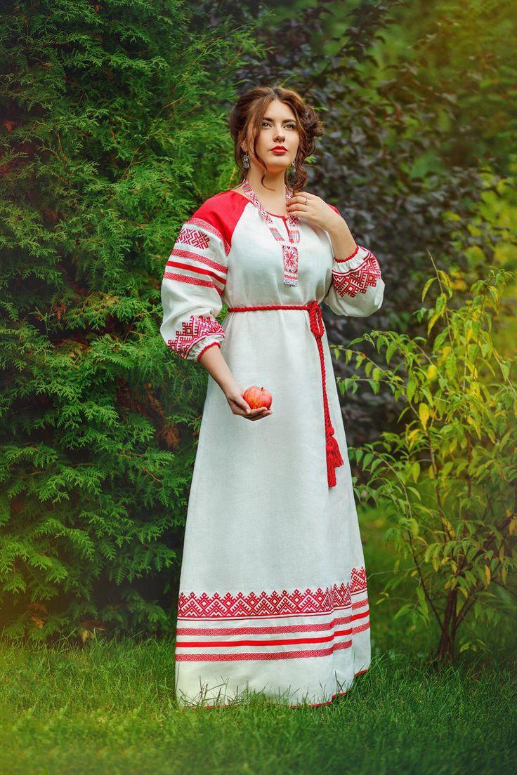образом, можно древнеславянская одежда фото женская если