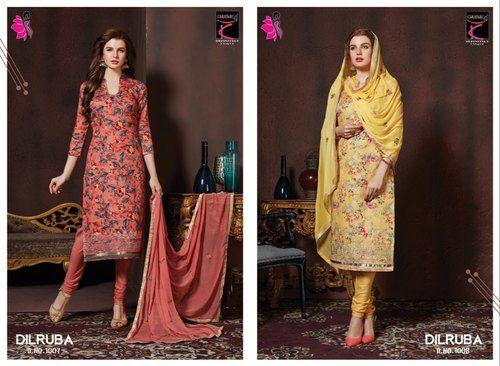 b8235e185f Designer Ladies Suits - Khushika Printed Ladies Suits Manufacturer from  Ahmedabad
