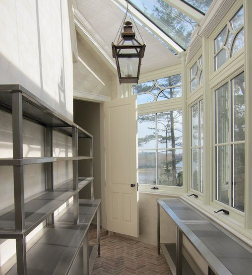 Best Long And Narrow Butler S Pantry Features A Wall Of Windows 640 x 480