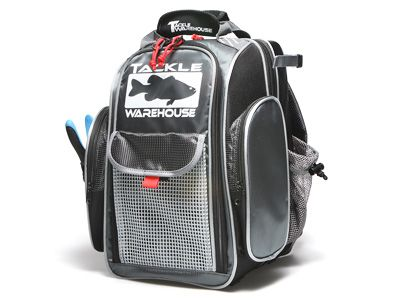 Tackle Warehouse Angler Backpack A must have for shore angling! Tons of storage and great features! #fishing #bassfishing #fishingtackle