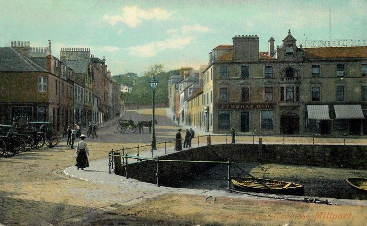 Post Card,  Millport, North Ayrshire -1911