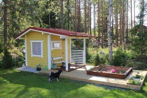 Детский домик #myfazenda #сад #красиво #декор #домик