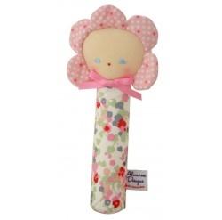 Alimrose Flower Doll Squeaker - Spring Floral