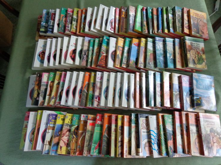 100 Romance Novels!!! 93 are Harlequin Romances. The other 7 are random publishers. Vintage Library. by LeObjectUnique on Etsy