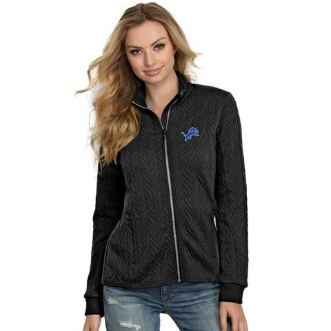 NFL Detroit Lions Womens Destination Full-Zip Track Jacket