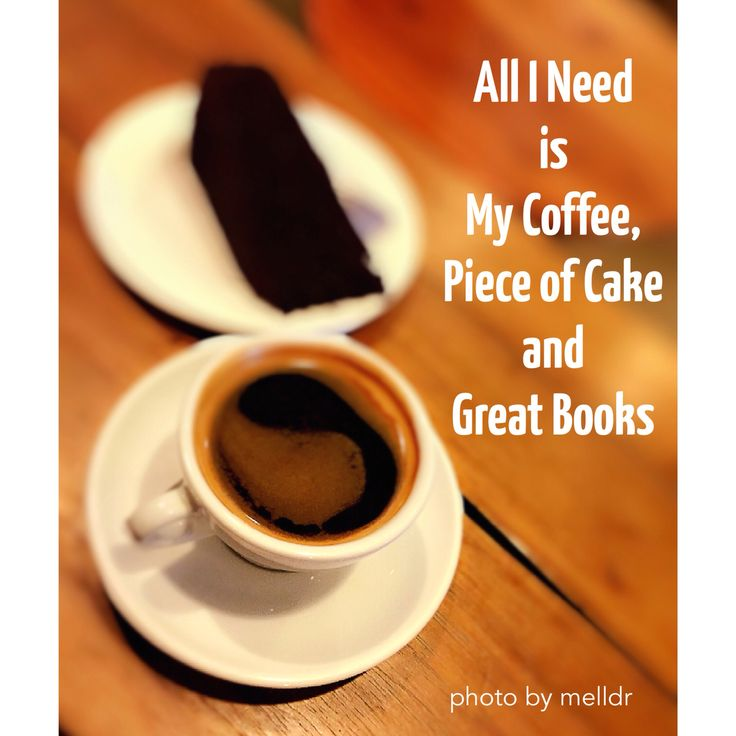 Coffee,cake and books