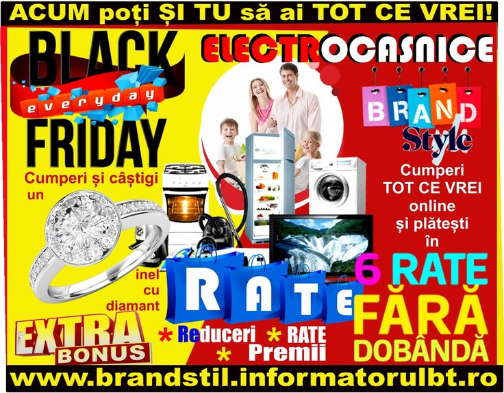 NEW RATE electrocasniceRATE electrocasnice BLACK FRIDAY EVERYDAY