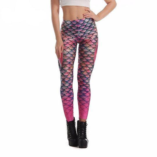 NEW Mermaid Leggings #leggings #womens #fitnessmodel #gymlife #fitspo #comics #pants