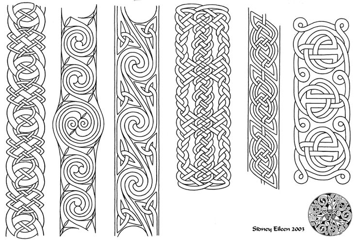 Flash - Celtic Bands 1 Line by sidneyeileen on deviantART