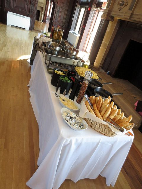 Pasta Station By Matthew S Catering At Avery Point Groton