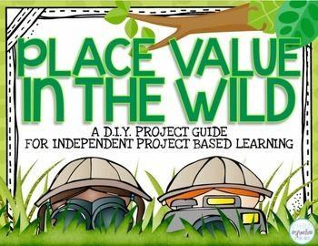 Bring your place value unit to life with this D.I.Y. Project Guide from Core Inspiration: Students who have mastered standard form, expanded form, word form, comparing numbers, and ordering numbers will have the opportunity to practice their place value analysis and application skills with this Place Value In The Wild - D.I.Y.