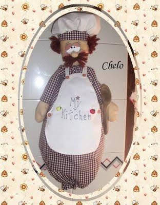 cocinero guardabolsas