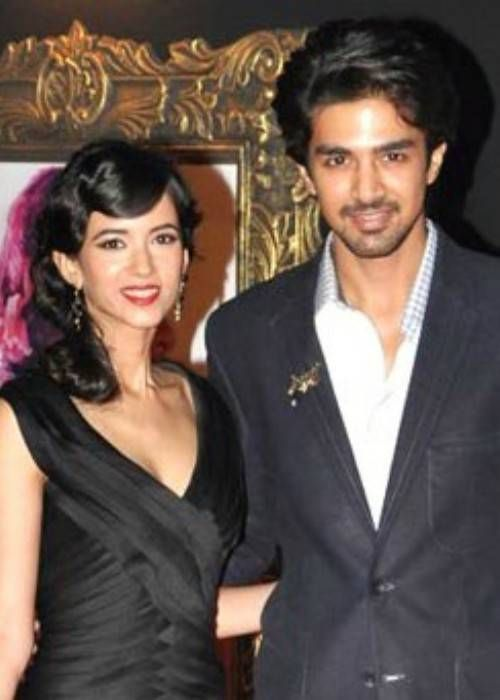 Saqib Saleem (Right) and Saba Azad as seen in November 2012...