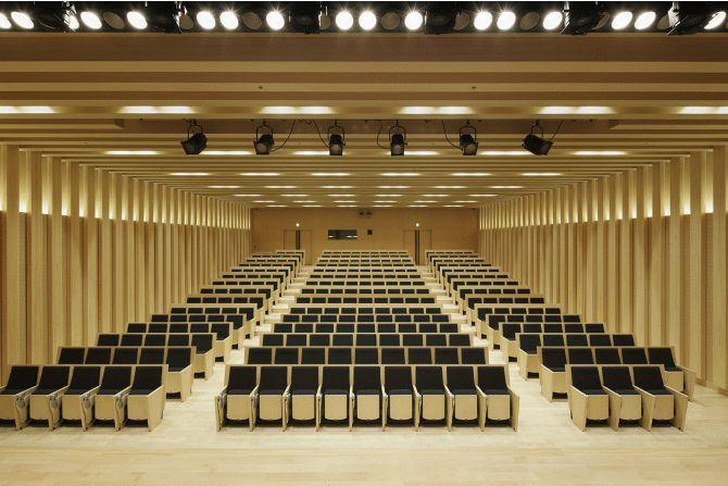 東京農業大学 世田谷キャンパス アカデミアセンター 横井講堂 納入