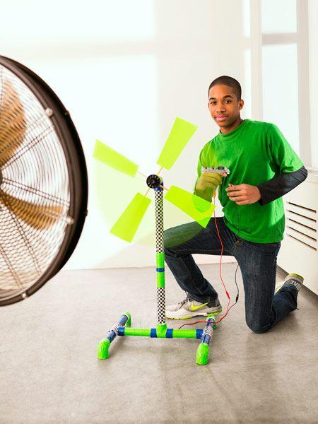 Make Your Own Miniature Wind Turbine
