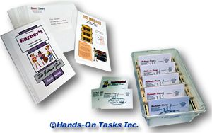 Stuffing Envelopes and Mail Sort Job Training Activity
