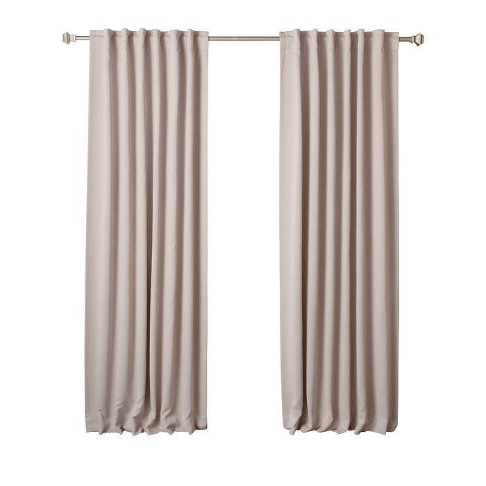 Beachcrest Home Sweetwater Room Darkening Thermal Blackout Curtain Panels & Reviews | Wayfair