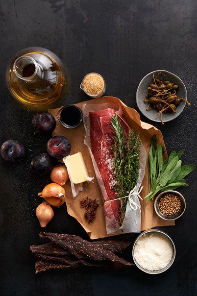 Biltong & Parmesan stuffed beef fillet