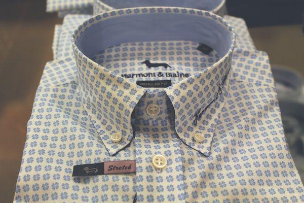 Camicia micro disegni,Harmont & Blaine