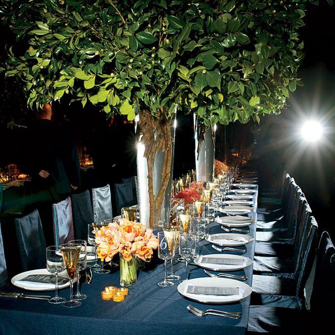 Flower arrangements for a destination wedding