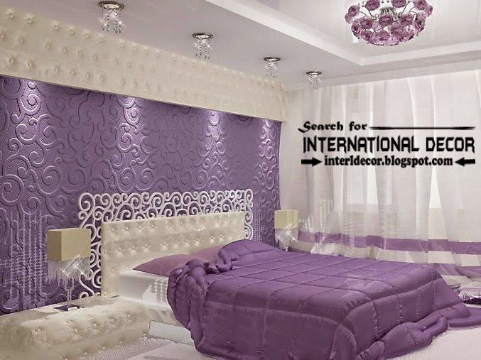 Contemporary Luxury Bedroom Decorating Ideas Designs Furniture 2015, Purple  Bedrooms | LB.Háló(modern) | Pinterest | Bedroom Decorating Ideas, Purple  ...