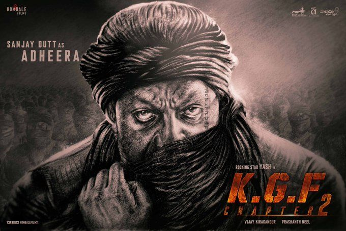 Kgf Chapter 2 Sanjay Dutt S Deadly Look As Adheera Poster Revealed Watch Bollywood Movies Online Upcoming Movies Full Movies Download