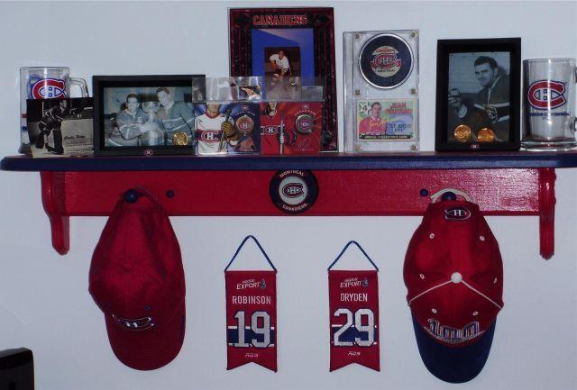 Dad's Montreal Canadiens Room - Habs Fans / Partisans Tricolore - Gallery - Canadiens de Montreal