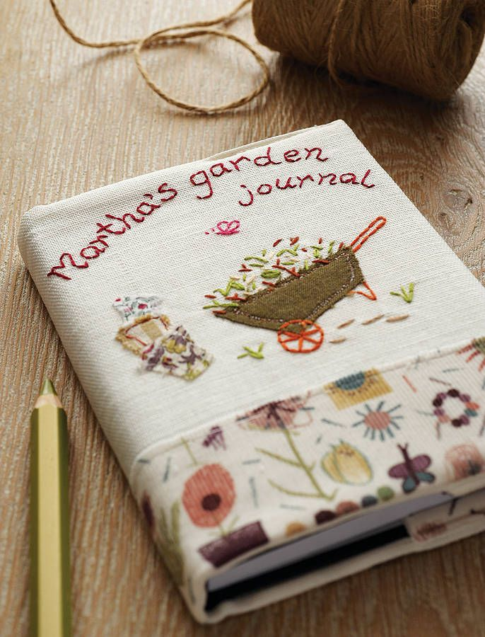 Personalised Garden Journal Notebook