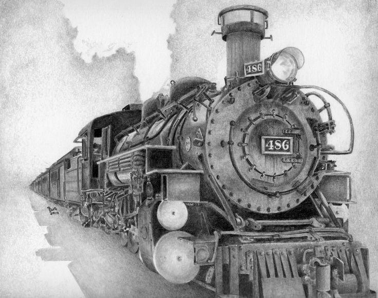 Что старый паровой двигатель GrayWolfcg на deviantart