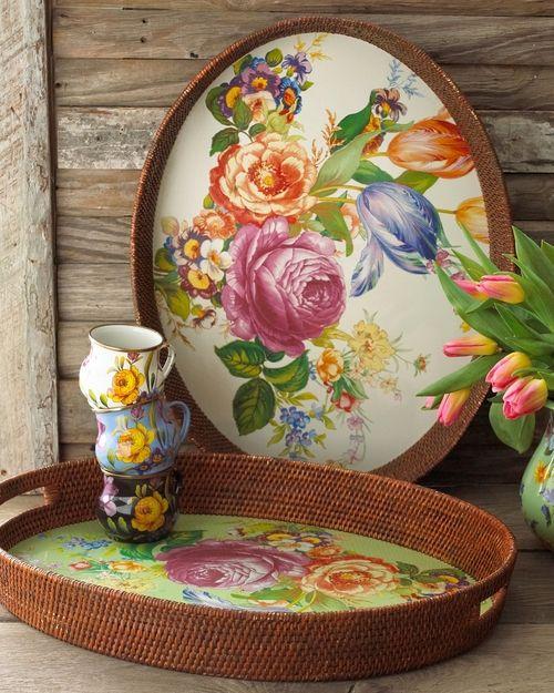 Top 20 Tea Platters: 17 Best Images About Brickor/Trays On Pinterest