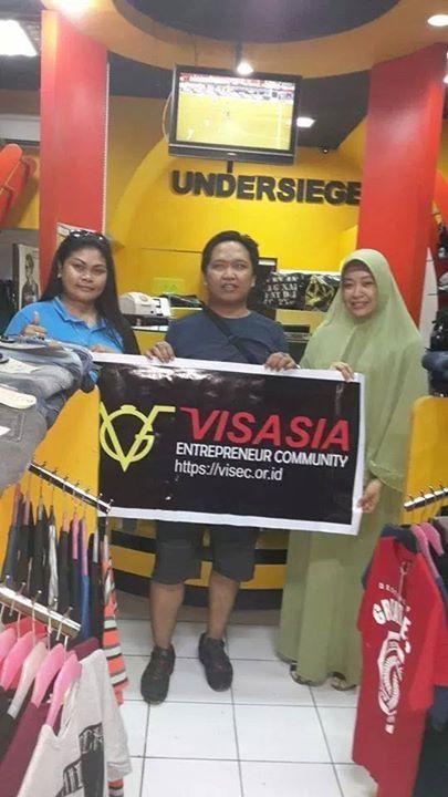 Visasia Entrepreneur Community - Distro Undersiege Jl. Pengayoman Jasper III No. 42 Makassar, Sulsel Contact : 082339254353 ( Syaifullah Djalil )