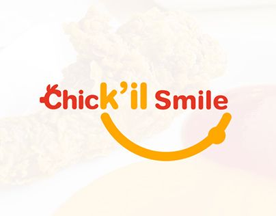 """Check out new work on my @Behance portfolio: """"Chick'il Smile   LOGO"""" http://be.net/gallery/31239499/Chickil-Smile-LOGO"""