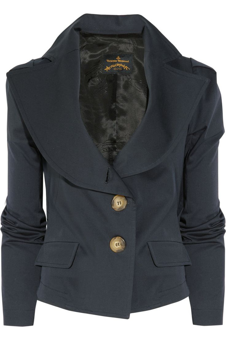 Vivienne Westwood Anglomania | Stretch-cotton jacket | NET-A-PORTER.COM