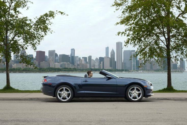 2014 Chevrolet Camaro Convertible Set To Debut In Frankfurt
