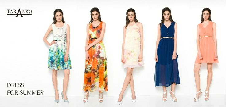 SUMMER DRESSES. There is nothing better for summer than the perfect dress<3  Taranko collection 2014.
