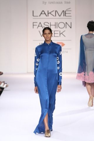 Archana Rao. LFW A/W 14'. Indian Couture.