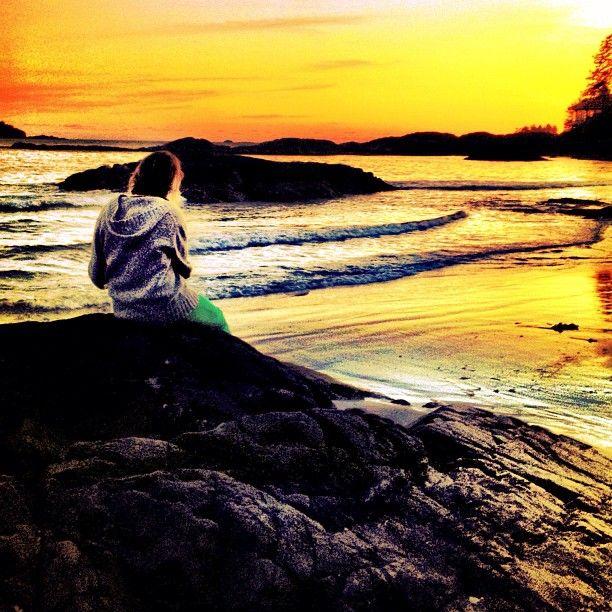 Chesterman Sunset, Tofino