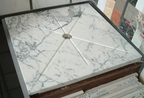 Marble Shower Base From Slab