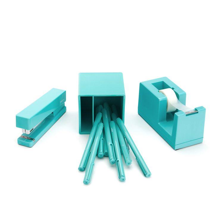 Aqua Starter Set | Cool Office Supplies | Poppin