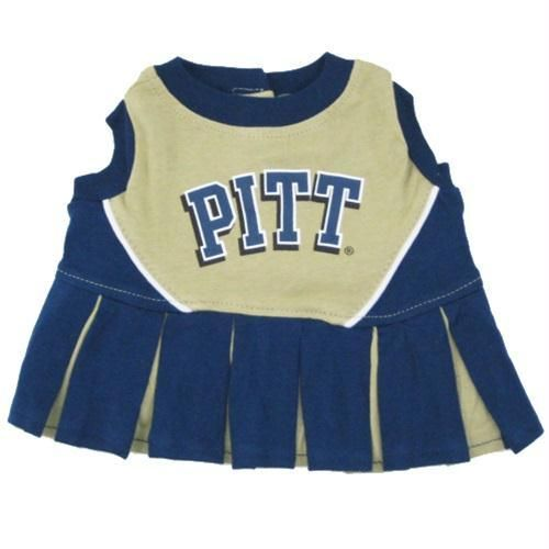 Pittsburgh Panthers Cheerleader Pet Dress