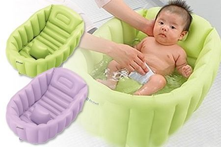 Baby Chair With Back Support And Leg Divider Keeps Babies Sitting Securely  And Comfortably. Reclining Baby Bath Tub With Skid Resistant Material And  Leg