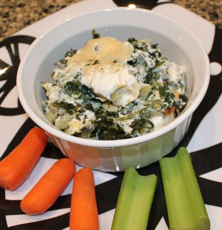 Spinach-Artichoke Casserole. Combine cream cheese with ingredients ...
