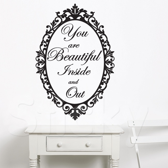 Wall Sticker MIRROR by Sticky!!!