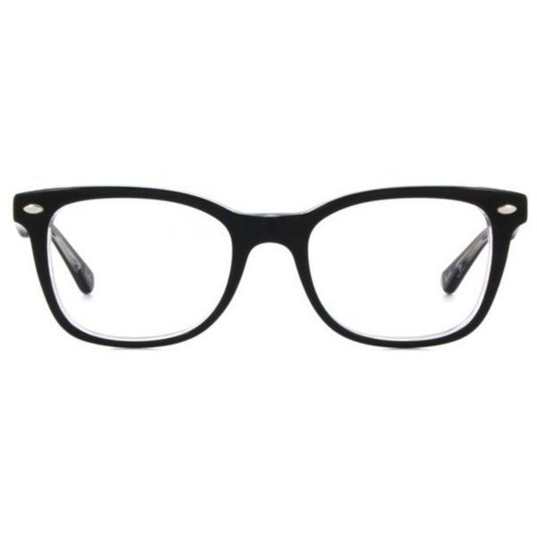 15ad7ab96f Ray-Ban RX5285 Womens Eyeglasses ( 180) ❤ liked on Polyvore featuring  accessories