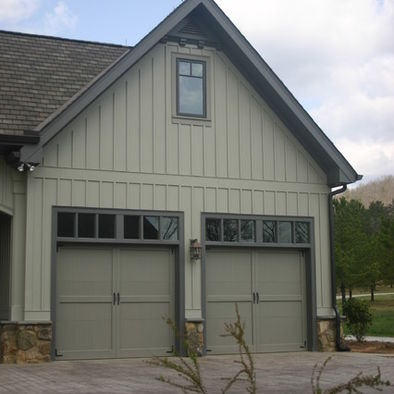 Garage Door Transom Get Light In The Garage And Keep The