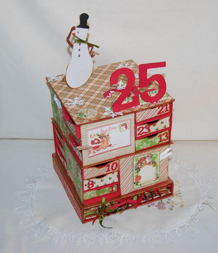 Calendário do Advento  Versão 2 ; 'Twas The Night Before Christmas G45