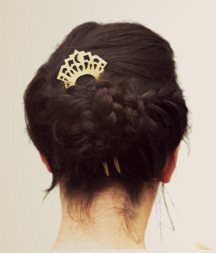 Surya Comb - Heirloom Hair pin.