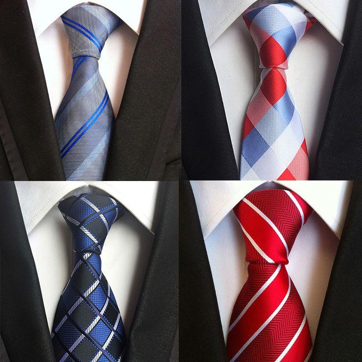Men's Suits Stripe Printed Polyester Corbatas Bridegroom Fashion 8cm Vestidos Ties Plaid Printed Neckties for Adult Cravat