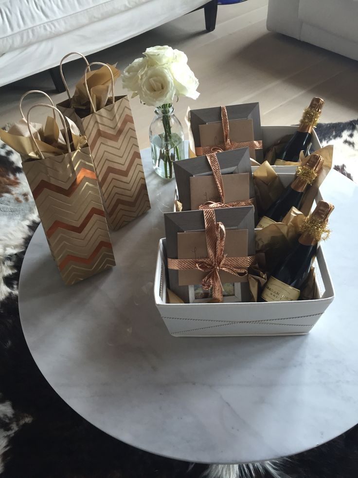 will you be my bridesmaid? baskets:)