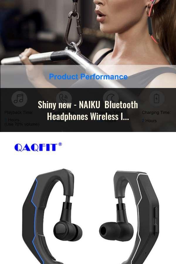 Naiku Bluetooth Headphones Wireless In-ear Noise Reduction Earphone With Microphone Sweatproof Stereo Bluetooth Headset Earphones & Headphones